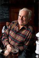 Portrait of Man in Pub    Stock Photo - Premium Royalty-Freenull, Code: 600-01123766