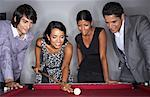 Business People Playing Pool    Stock Photo - Premium Royalty-Free, Artist: Masterfile, Code: 600-01124182