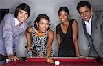 Business People Playing Pool    Stock Photo - Premium Royalty-Free, Artist: Masterfile, Code: 600-01124183