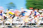 Bicycle Race    Stock Photo - Premium Rights-Managed, Artist: Bryan Reinhart, Code: 700-01124767