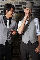 Portrait of Men at a Bar    Stock Photo - Premium Royalty-Freenull, Code: 600-01163444