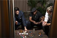 Men Playing Cards    Stock Photo - Premium Royalty-Freenull, Code: 600-01163475