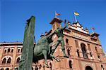 Statue, Plaza de Toros de las Ventas, Madrid, Spain    Stock Photo - Premium Rights-Managed, Artist: Graham French, Code: 700-01163860