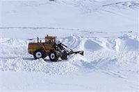 snow plow truck - Snowplow    Stock Photo - Premium Rights-Managednull, Code: 700-01163972