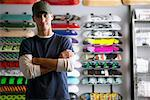Portrait of Skateboard Shop Owner    Stock Photo - Premium Royalty-Free, Artist: Masterfile, Code: 600-01164273