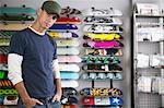 Portrait of Skateboard Shop Owner    Stock Photo - Premium Royalty-Free, Artist: Masterfile, Code: 600-01164274