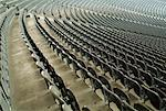 Stadium Seats, Berlin Olympic Stadium, Germany    Stock Photo - Premium Rights-Managed, Artist: Johann Wall, Code: 700-01172169