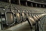Stadium Seats, Berlin Olympic Stadium, Germany    Stock Photo - Premium Rights-Managed, Artist: Johann Wall, Code: 700-01172170