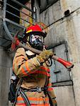 Portrait of Firefighter    Stock Photo - Premium Royalty-Free, Artist: Masterfile, Code: 600-01172227