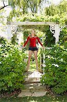preteens girls spandex - Girl Doing Gymnastics Outdoors    Stock Photo - Premium Royalty-Freenull, Code: 600-01173700