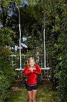 preteens girls spandex - Girl Doing Gymnastics Outdoors    Stock Photo - Premium Royalty-Freenull, Code: 600-01173703