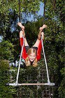 preteens girls spandex - Girl Doing Gymnastics Outdoors    Stock Photo - Premium Royalty-Freenull, Code: 600-01173705