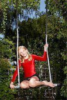 preteens girls spandex - Girl Doing Gymnastics Outdoors    Stock Photo - Premium Royalty-Freenull, Code: 600-01173706