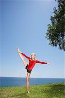 preteens girls spandex - Girl Doing Gymnastics Outdoors    Stock Photo - Premium Royalty-Freenull, Code: 600-01173708