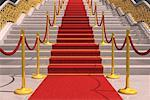 Red Carpet on Staircase    Stock Photo - Premium Rights-Managed, Artist: Guy Grenier, Code: 700-01173801