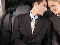 Man and Woman in Car    Stock Photo - Premium Royalty-Freenull, Code: 600-01173941