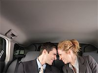 Man and Woman in Car    Stock Photo - Premium Royalty-Freenull, Code: 600-01173942