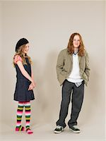 Portrait of Boy and Girl    Stock Photo - Premium Rights-Managednull, Code: 700-01182796