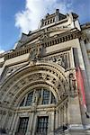 Entrance to Victoria and Albert Museum, London, England