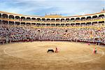 Bullfight, Plaza de Toros de Las Ventas, Madrid, Spain    Stock Photo - Premium Rights-Managed, Artist: Graham French, Code: 700-01183198
