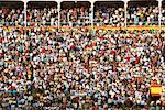 Audience, Plaza de Toros de Las Ventas, Madrid, Spain    Stock Photo - Premium Rights-Managed, Artist: Graham French, Code: 700-01183203