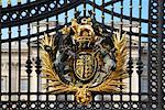 Coat of Amrs, Gate, Buckingham Palace, London, England    Stock Photo - Premium Rights-Managed, Artist: Graham French, Code: 700-01183544