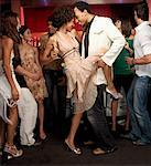 People Dancing in Nightclub    Stock Photo - Premium Rights-Managed, Artist: Mark Leibowitz, Code: 700-01183572