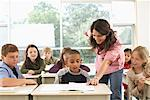 Students and Teacher in Classroom    Stock Photo - Premium Royalty-Free, Artist: Masterfile, Code: 600-01184722