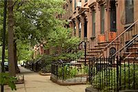 Brownstones, Brooklyn, New York, USA    Stock Photo - Premium Rights-Managednull, Code: 700-01184795