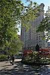 Madison Square and Flatiron Building, New York City, New York, USA