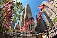 Rockefeller Center, New York City, New York, USA    Stock Phot
