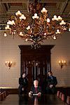 Businessmen in Boardroom