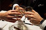 Men Toasting    Stock Photo - Premium Royalty-Free, Artist: Masterfile, Code: 600-01185334