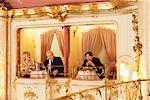 Man Giving the Finger to Older Couple at the Opera Stock Photo - Premium Rights-Managed, Artist: Masterfile, Code: 700-01185398