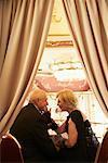 Couple at the Boccaccio Ballroom, Grand Hotel Bohemia, Prague, Czech Republic