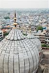 High angle view of domes on a mosque, Jama Masjid, New Delhi, India Stock Photo - Premium Royalty-Free, Artist: ableimages, Code: 630-01191785