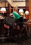 Woman with Shopping Bags    Stock Photo - Premium Rights-Managed, Artist: Masterfile, Code: 700-01194412