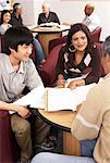 Students Studying    Stock Photo - Premium Rights-Managed, Artist: Masterfile, Code: 700-01194543