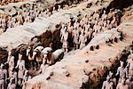 Terracotta Warriors, Xian, Shaanxi Province, China    Stock Photo - Premium Rights-Managed, Artist: Jeremy Woodhouse, Code: 700-01195625