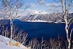 Lake Mashu, Akan National Park, Hokkaido, Japan    Stock Photo - Premium Royalty-Free, Artist: Jeremy Woodhouse, Code: 600-01195725