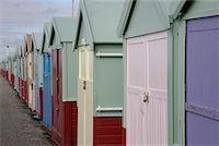 Beach Huts    Stock Photo - Premium Rights-M
