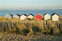 Beach Huts, Southwold, England    Stock Photo - Premium Rights-Managednull, Code: 700-01196216