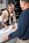 Woman Filling Out Paperwork    Stock Photo - Premium Royalty-Free, Artist: Masterfile, Code: 600-01198773