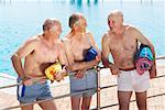 Men at Swimming Pool