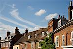 Row of Houses, England    Stock Photo - Premium Rights-Managed, Artist: David Papazian, Code: 700-01199584