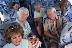 Seniors on Tour Bus    Stock Photo - Premium Rights-Managed, Artist: Masterfile, Code: 700-01199981