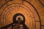 West Bund Sightseeing Tunnel, Huangpu District, Shanghai, China