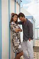 Couple at Beach    Stock Photo - Premium Rights-Managednull, Code: 700-01200440