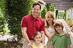 Family in botanical garden Stock Photo - Premium Royalty-Free, Artist: Universal Images Group, Code: 604-01223012