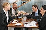Businesspeople in Restaurant    Stock Photo - Premium Rights-Managed, Artist: Jerzyworks, Code: 700-01223512